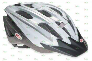 Шлем Bell UKON, U (54-61см), белый/серебристый, 260 гр.
