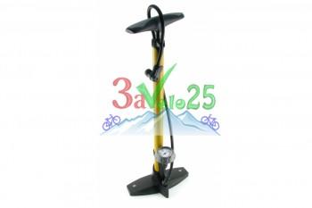 Насос Giyo GF 55P, Max 120psi, авто/вело нипель, алюм, корп.