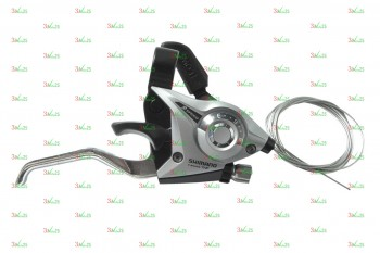 Шифтер/Тормозная ручка Shimano ST-EF51, 9ск./R, тр. 2050мм,