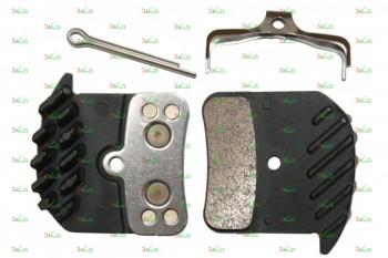 Тормозные колодки для дисковых тормозов Shimano H03C, метал
