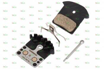 Тормозные колодки для дисковых тормозов Shimano J04C, метал