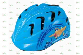 Шлем детский VSH 7, р-р S (48-52см), вертолетики