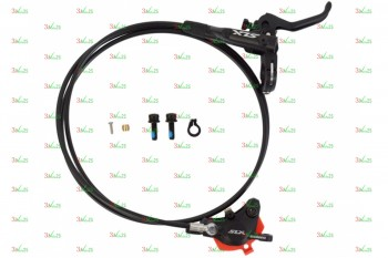 Тормоз дисковый гидравлический Shimano M7000, BL(прав)/BR(за
