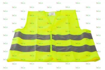 Светоотражающий защитный жилет для детей KV 105, жел.