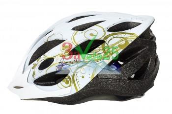 Шлем VSH 23 Primavera, L (58-61см), бел.