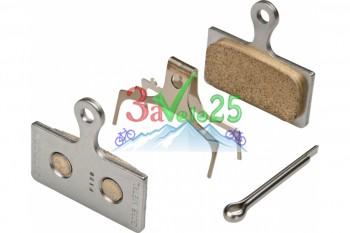 Тормозные колодки для дисковых тормозов Shimano G03S, мет.