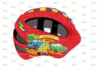 Шлем детский VSH 8, р-р S (48-52см), Машинки