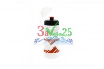 Фляга VSB 21, с защитой от пыли 500мл, красн.