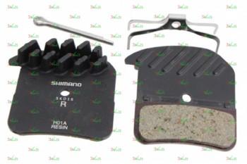 Тормозные колодки для дисковых тормозов Shimano H01A, пласт.