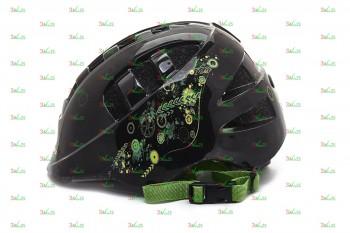 Шлем детский VSH 8, р-р M (52-56см), Робокоп