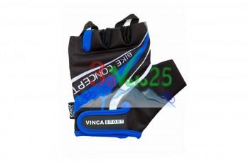 Перчатки VG 949, гелевые вставки, чер./син.