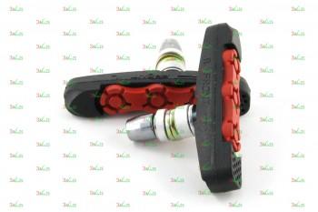 Тормозные колодки V-br VB 111-2, чер./красн.