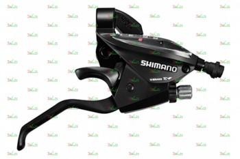 Шифтер/Тормозная ручка Shimano ST-EF510, 7 ск., 2050мм, чер.