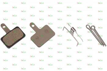 Тормозные колодки для дисковых тормозов Shimano B01S, пласт.