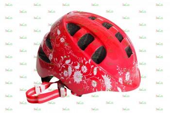 Шлем детский VSH 8, р-р S (48-52см), крас. цв.