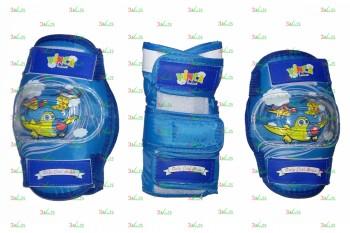 Комплект защиты детский VP 32, син., M
