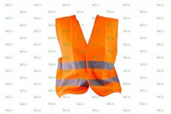 Светоотражающий защитный жилет для детей KV 106, оран.